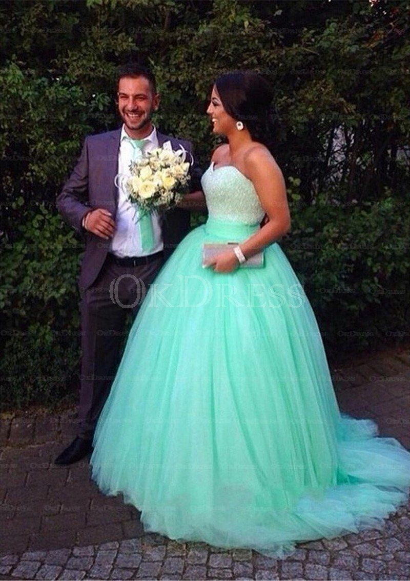 Luxuriant Ball Gown Tulle Prom Dresses - by OKDress UK   beautiful ...