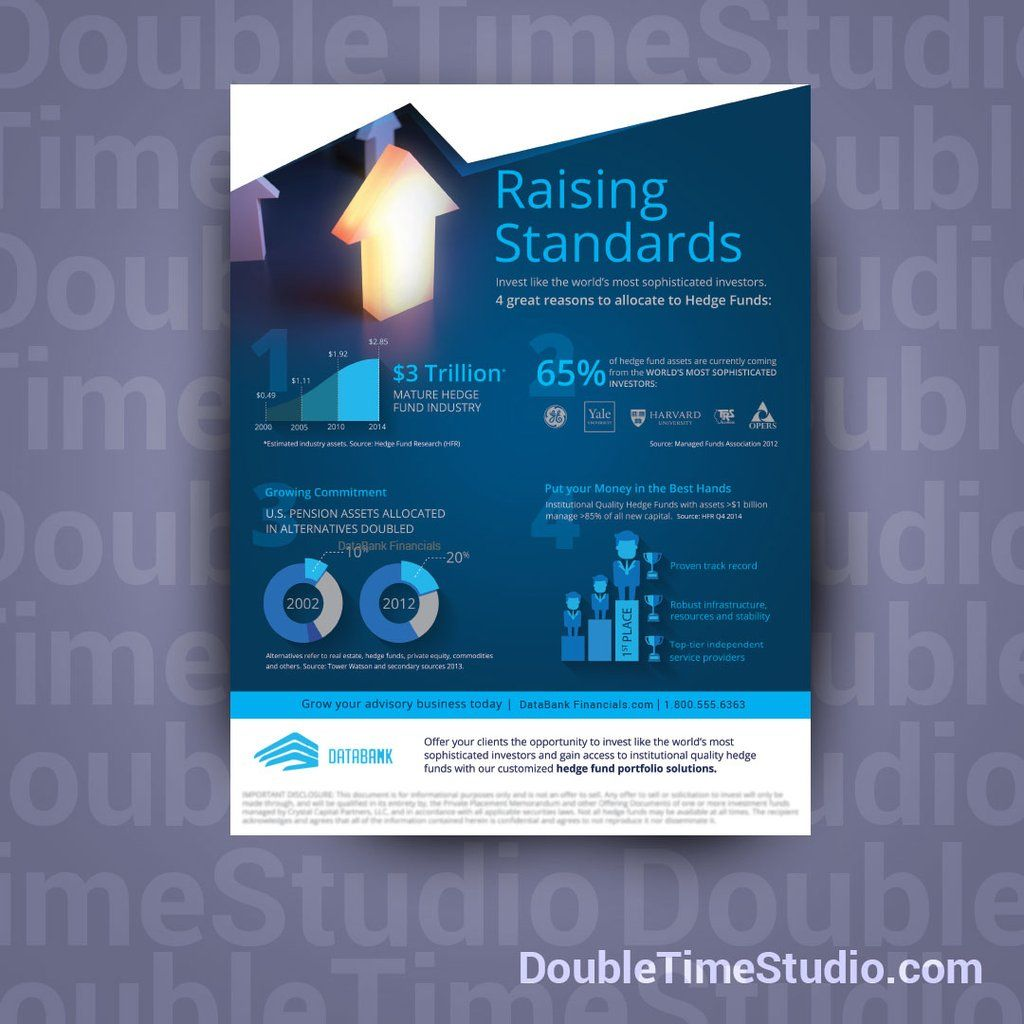 Magazine Ad For Financial Company Doubletimestudio Color