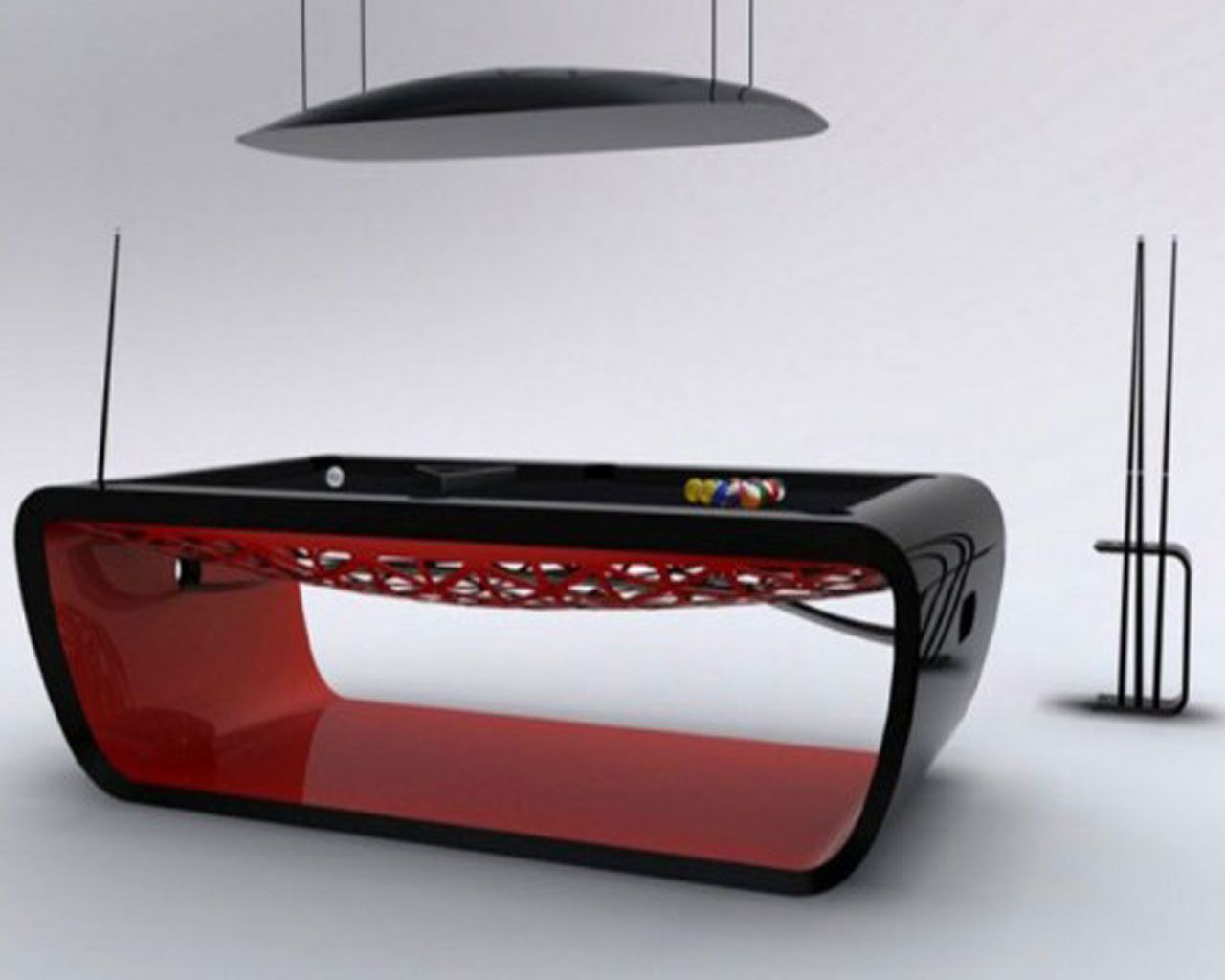Contemporary Pool Table Design
