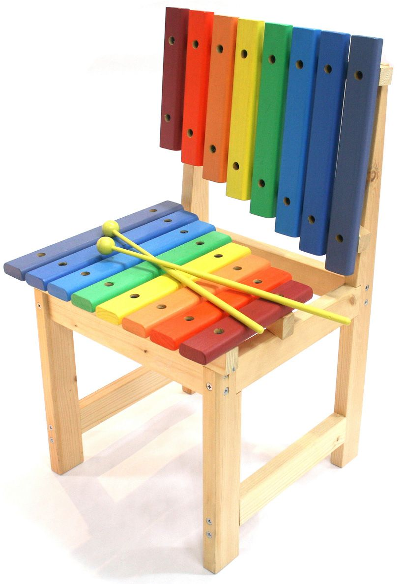 Daisung Kim Xylophone Chair Preschool Furniture Piano