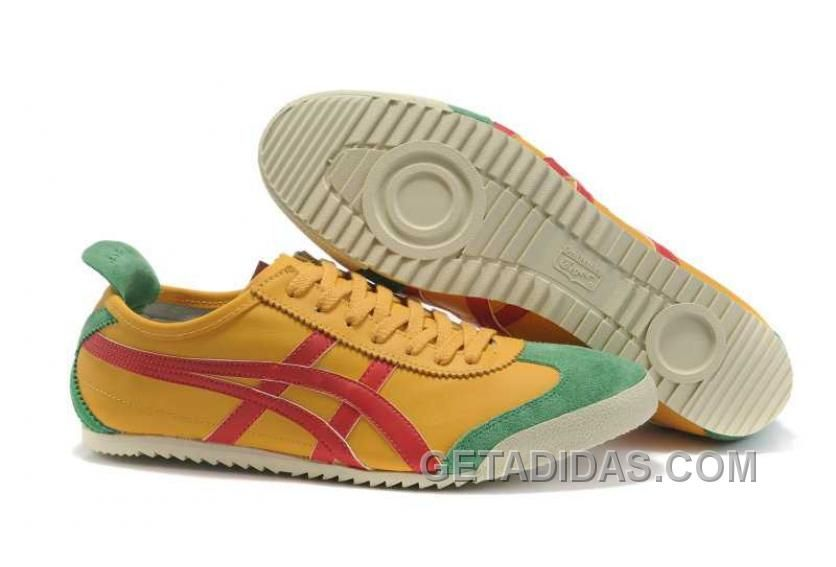 onitsuka tiger mexico 66 yellow zapatillas verde