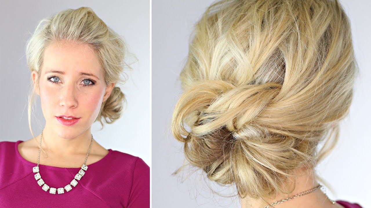 Knotted updo cabello pinterest updo hair style and pretty hair