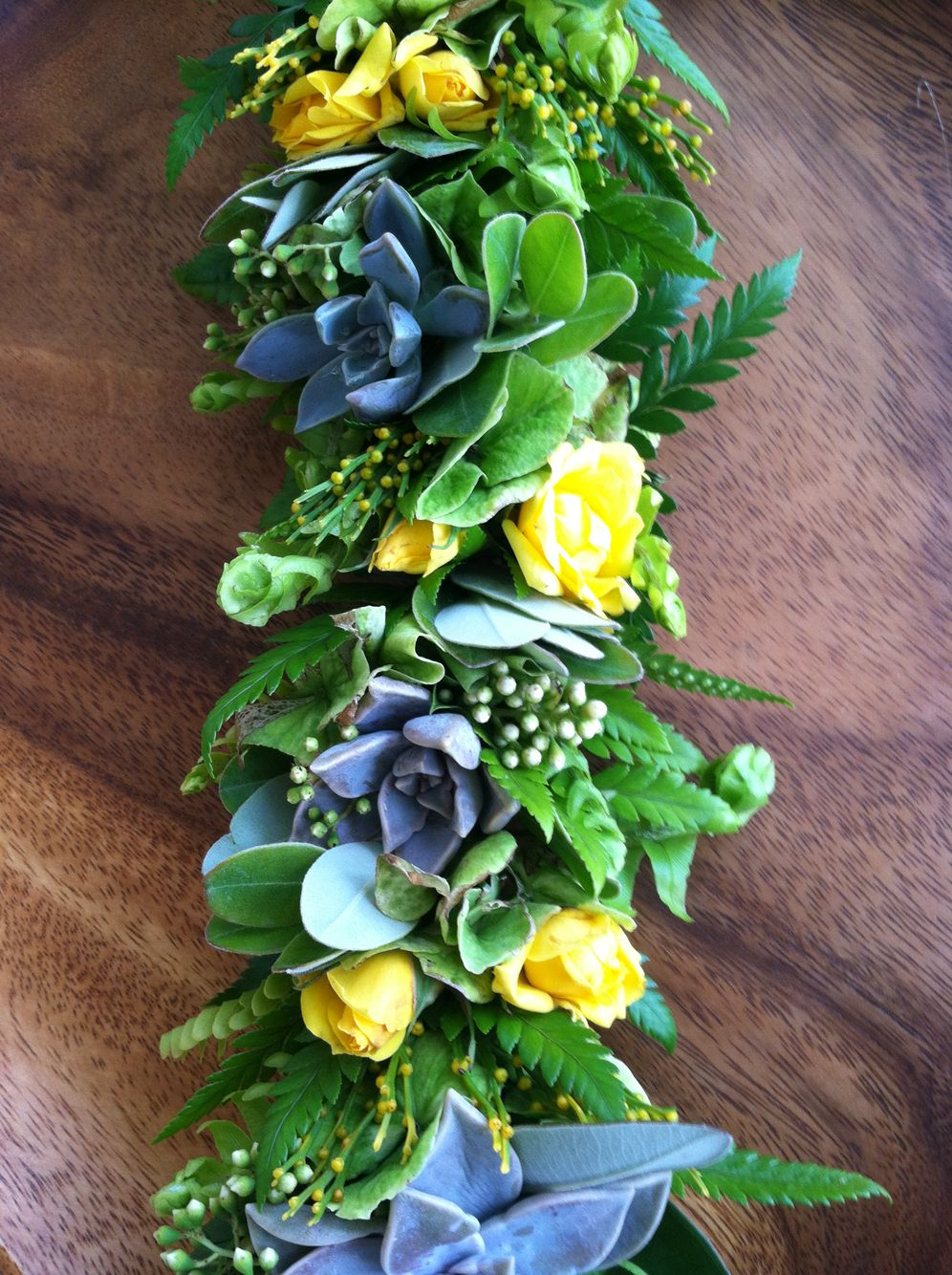 Succulent Haku Shipped To East Coast Hawaiian Leis Pinterest