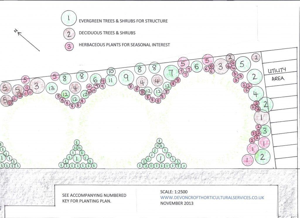 Planting Plan For North East Facing Garden East Facing Garden