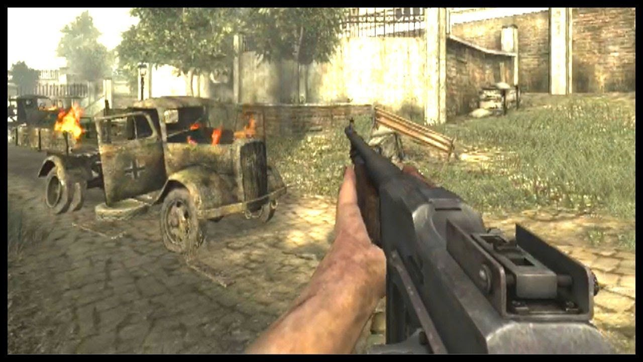 FREE FOR ALL - Call of Duty: World at War - Bots Multiplayer ...