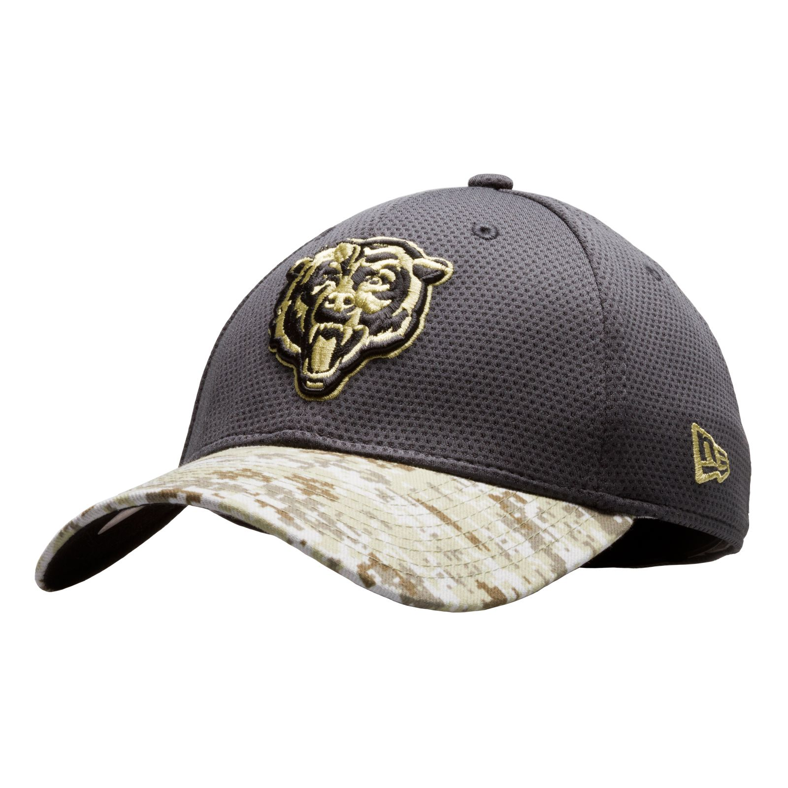 7481e1b3 real chicago bears salute to service hat 8e942 14dce