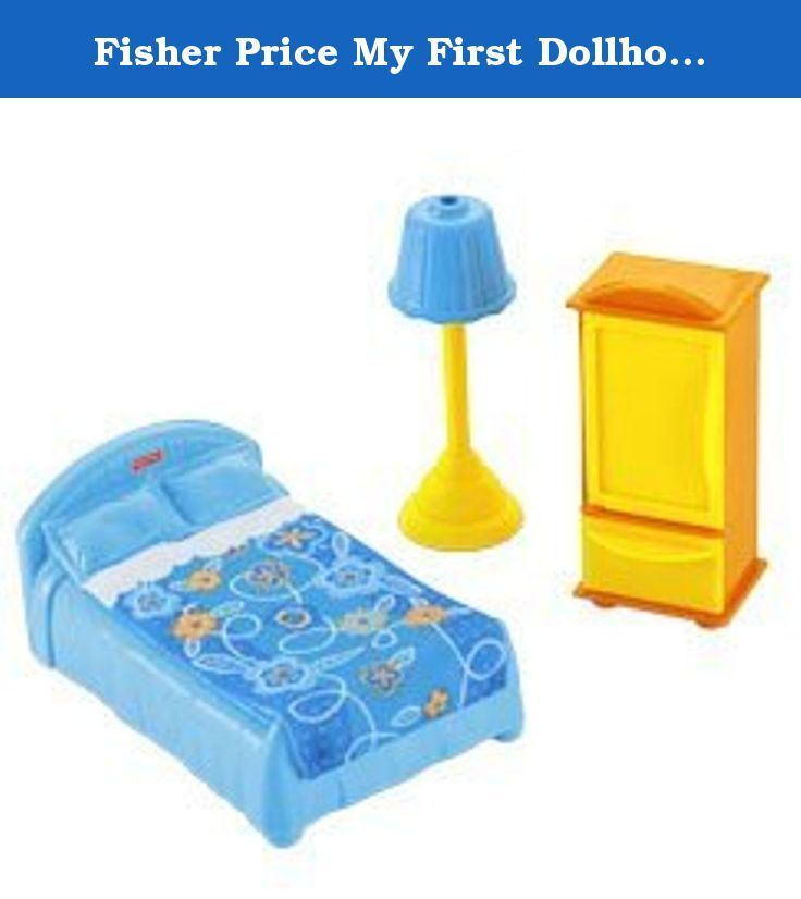 Fisher Price My First Dollhouse Mom Dad S Room Fixing Dinner