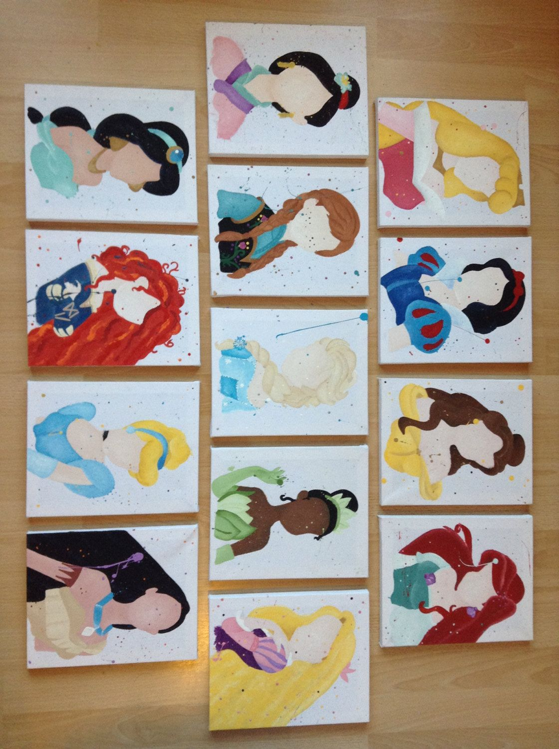 Result Disney Princess Simple Magic Band Ideas Paintings
