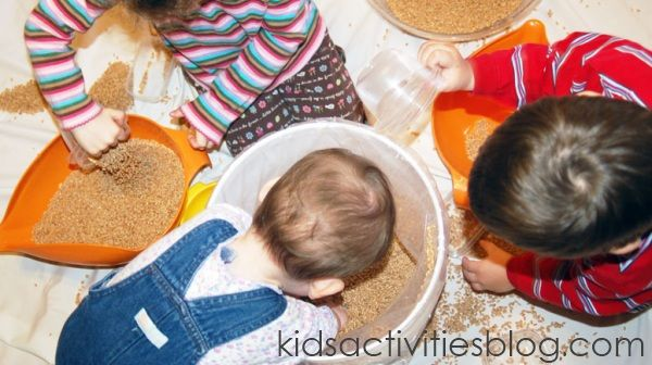 Activities For 2 Year Olds: Examine, investigate and explore; fine motor skills;  and messy art
