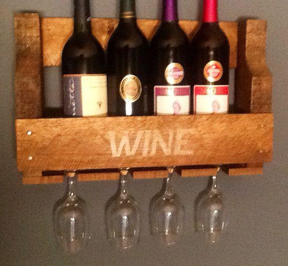 Best 25+ Pallet wine holders ideas on Pinterest