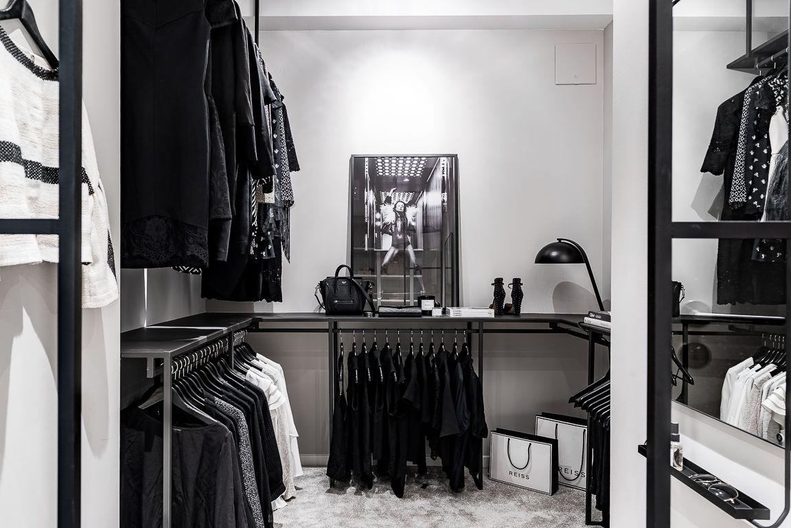 Un Dressing En Noir Et Blanc Closet Black White