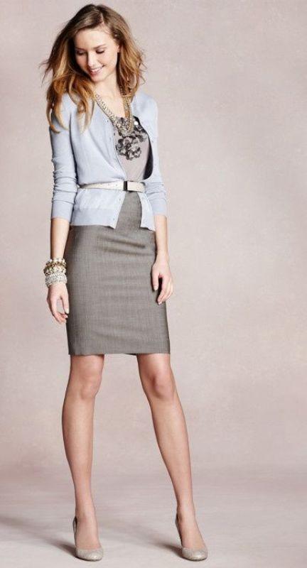Marvelous 25 Shades Of Grey Women Office Wear Ideas | Styleoholic