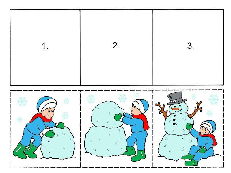 Images s quentielles imprimer montessori and co pinterest images s quentielles - Activite hiver maternelle ...
