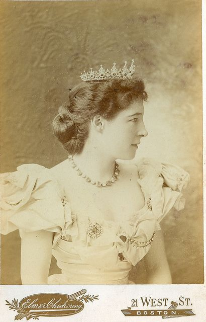 Rare Lily Langtry in crown | Flickr - Photo Sharing!