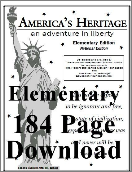 American History, Government, & Geography printables