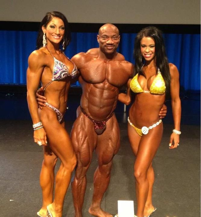 Naked body contests