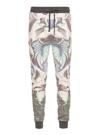 Taxonomy Floral Joggers Men's Joggers Clothing Joggers Awesome Mens Patterned Joggers