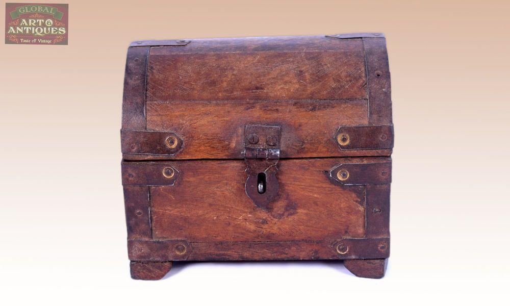 Handmade Decorative Boxes Nice Handmade Decorative Wooden Box With Iron Fittingsg62191
