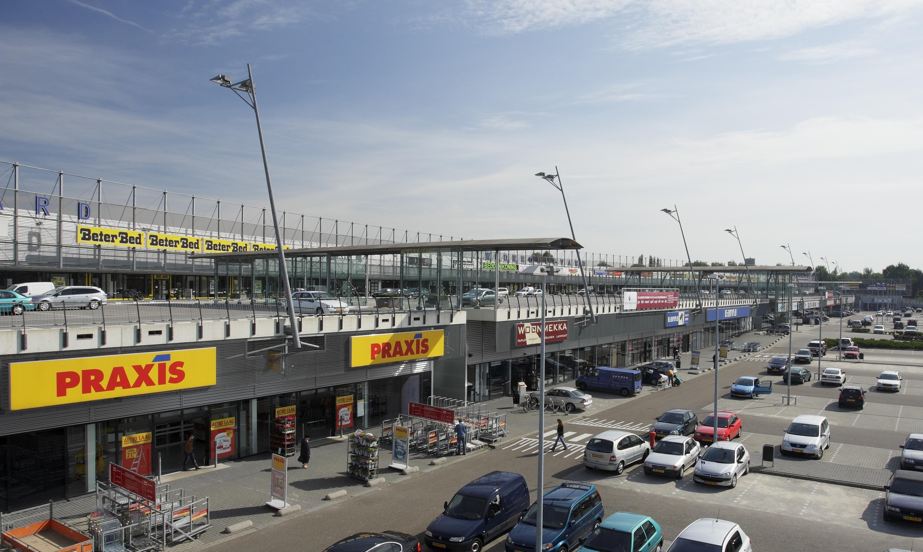 De woonboulevard heerlen is de grootste woonboulevard van europa