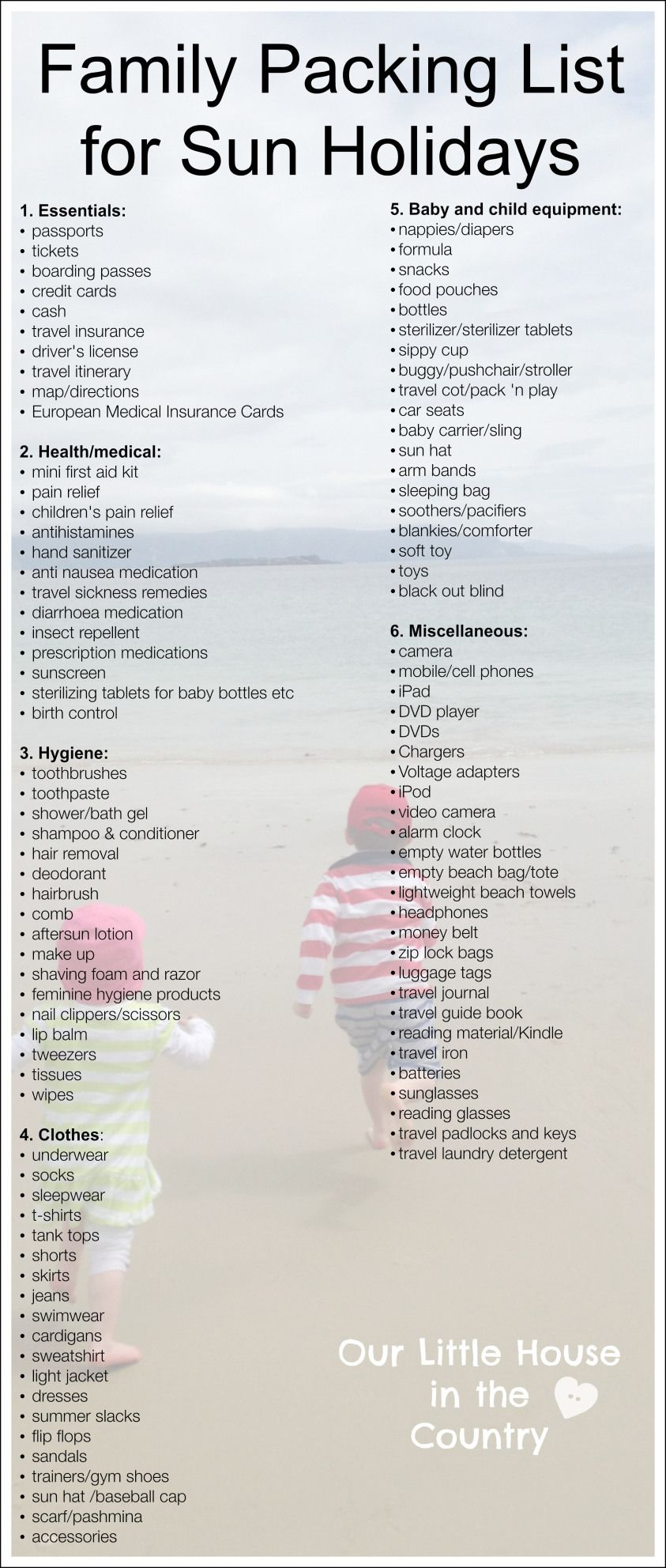 Tips For Travelling With Kids Part 2 Packing Tips And List Family Packing List Beach Vacation Packing Packing List For Vacation