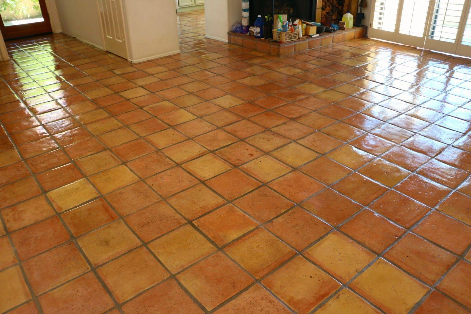 I\'ve lived on saltillo tile (terra-cotta tile) floors for over ...
