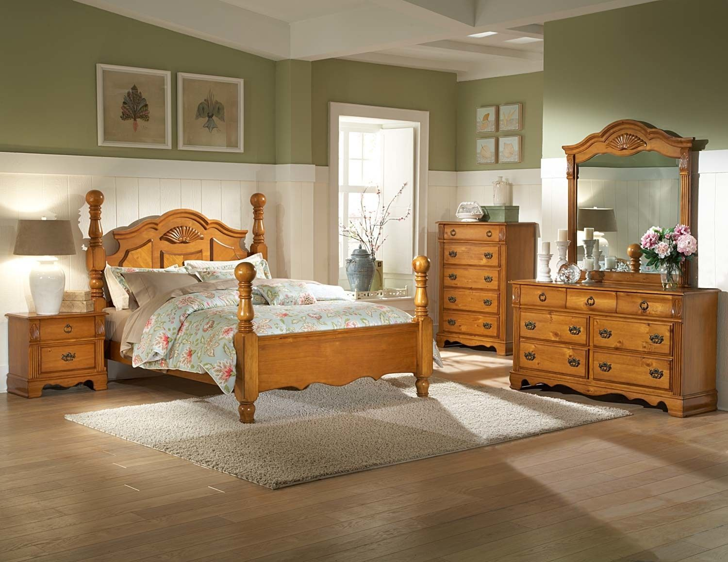 The Important Things When Selecting Pine Bedroom Furniture Set Pine Bedroom Furniture Pine Bedroom Wooden Bedroom