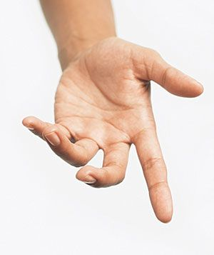 This open hand represents the idea that universal design is all about ensuring that education is available for everyone and all things will be available for all people.