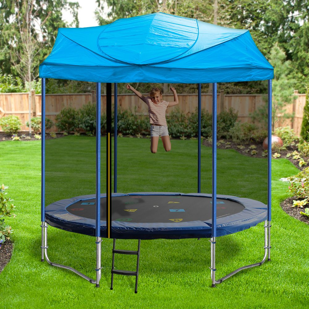 Trampoline Roof Australia 10ft Trampoline Backyard Trampoline Kids Trampoline