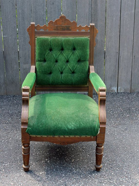 Design Your Own Antique Victorian Eastlake Chair   Custom Order On Etsy,  $425.00