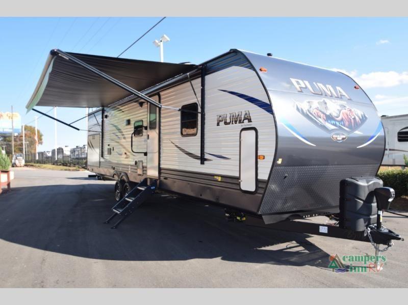 New 2019 Palomino Puma 32 Rbfq Travel Trailer At Campers Inn