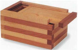 Laminated Keepsake Box Cool Wood Projects To Build