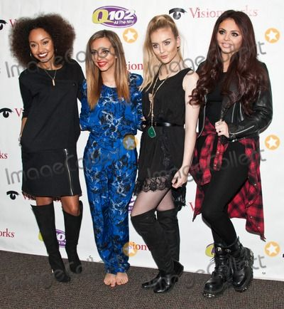 Bala Cynwyd Pa March 01 L To R Leigh Anne Pinnock Jade Thirlwall Perrie Edwards And Jesy Nelson Of Bri Little Mix Perrie Edwards Celebrities Little Mix