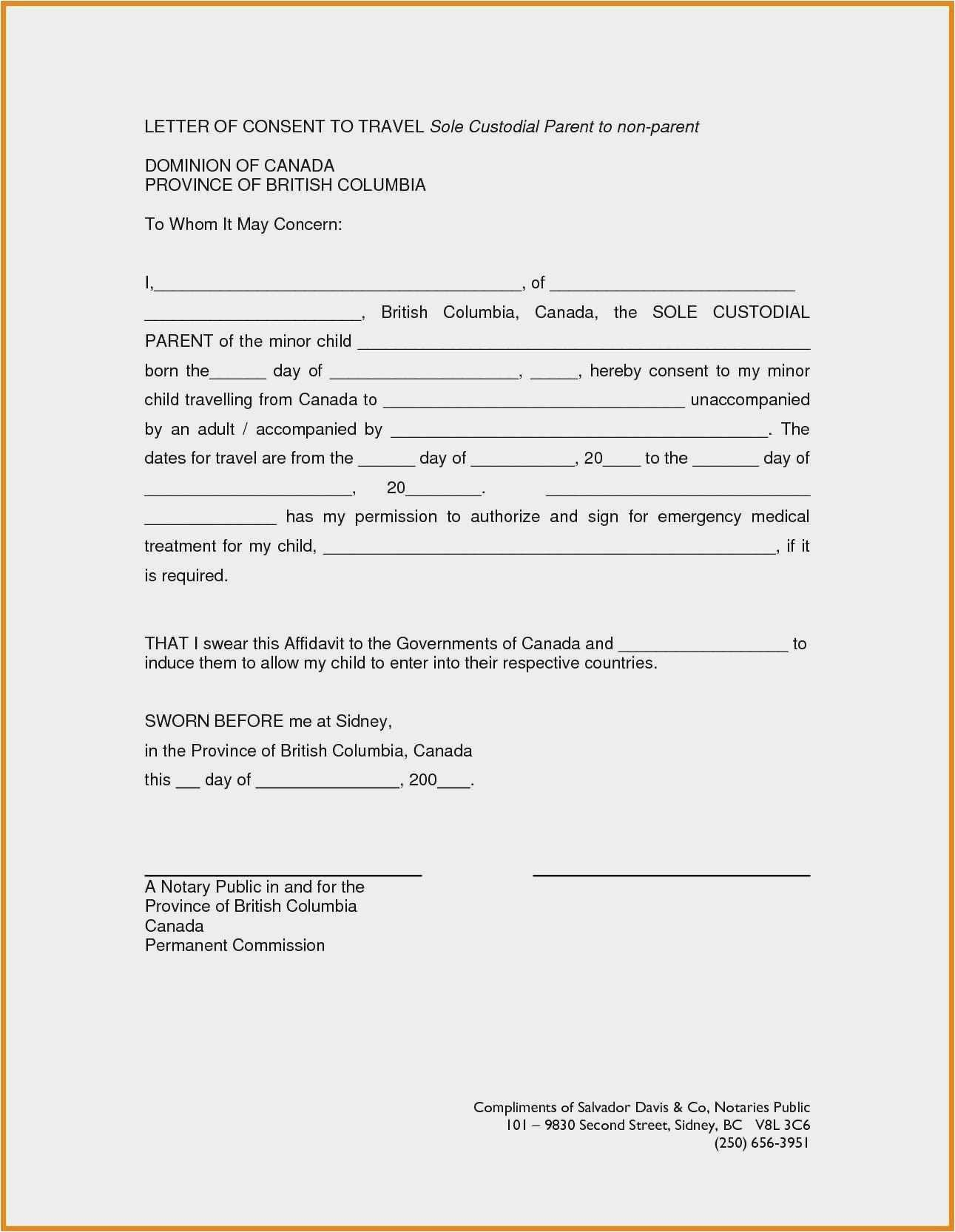 Notarized Custody Agreement Template Luxury Notarized Custody Agreement Template New Beautiful Child Custody Agreement Support Letter Contract Template
