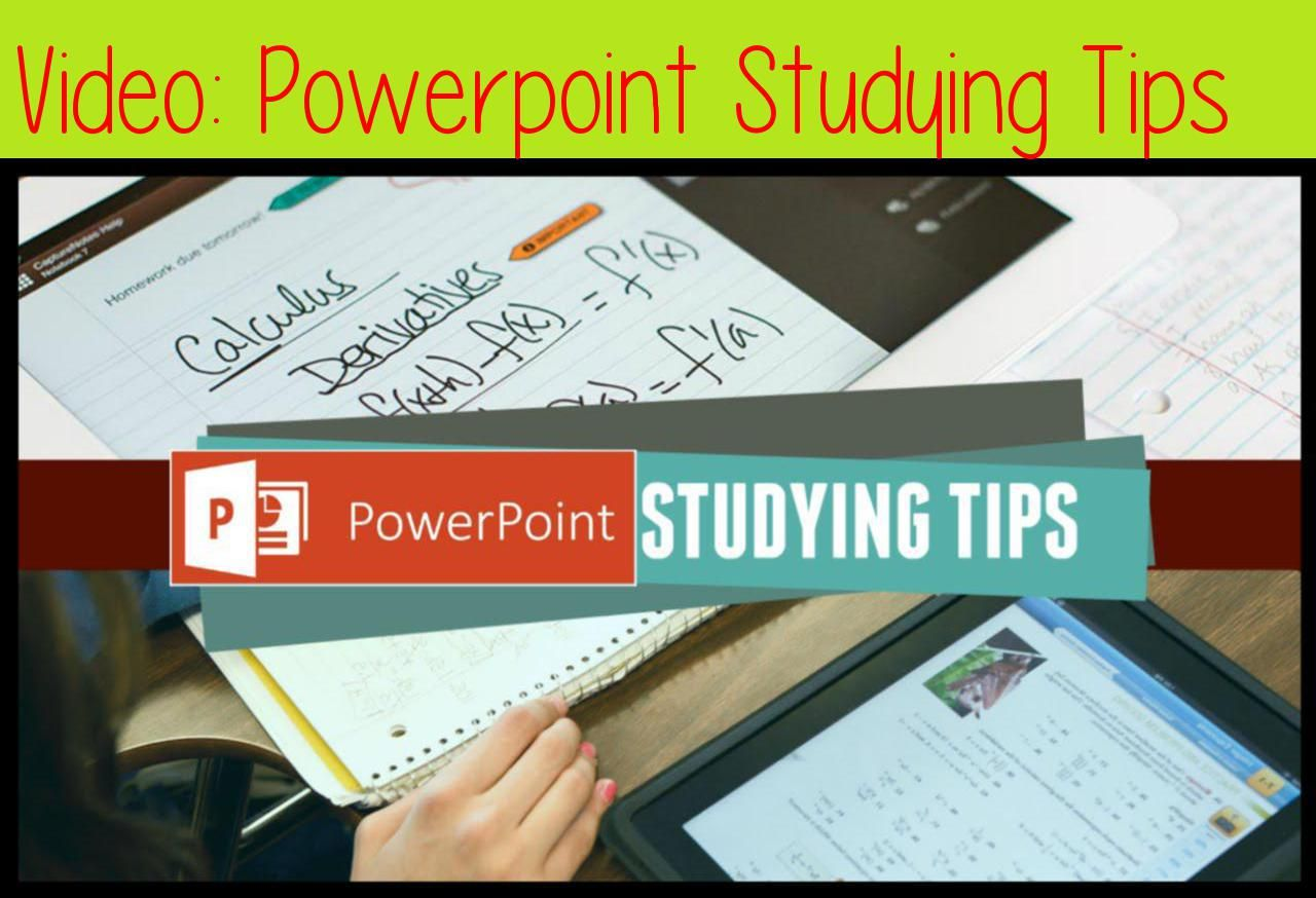Powerpoint Studying Tips 2 Minute Study Tips Studying Study Tips Study Tips College Study