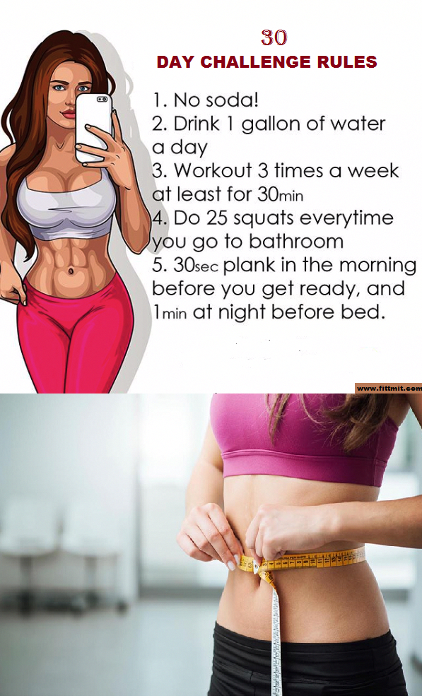 30-Days Challenge Rules For Fitness. - Beauty&fitness with A.bari #VegetarianDie...    30-Days Chall...