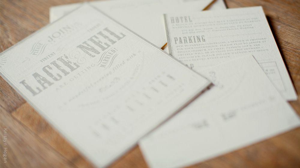 Custom Wedding Invitation Suite | Arboreal Creative