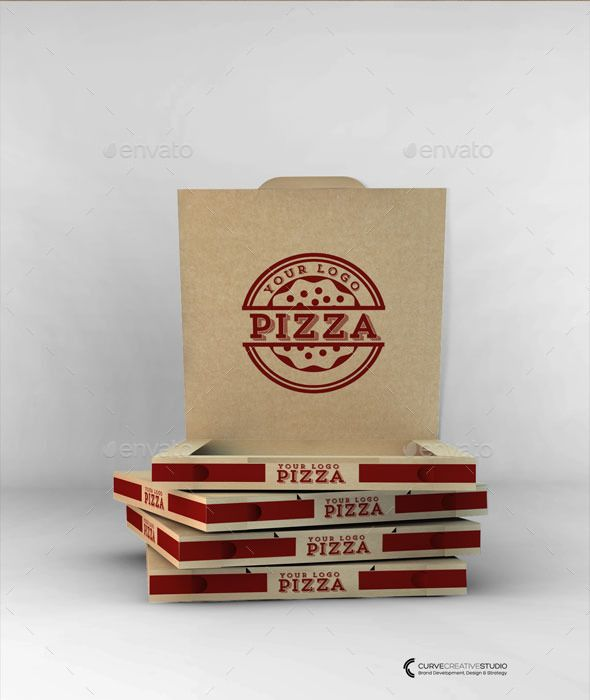 Download Agency Quality Realistic Cardboard Takeout Pizza Box Mockup Ideal For Branding Mock Ups Design Presentations And M Pizza Boxes Pizza Box Design Pizza Design