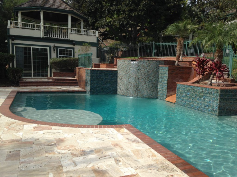Brick Coping Alan Smith Pools Pool Pool Coping Pool Plaster