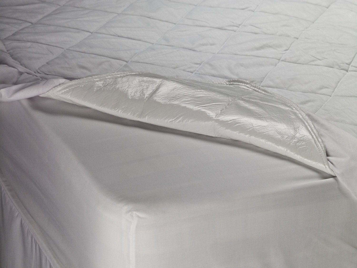 Waterproof Quilted Mattress Protector Is Made Using Polyurethane