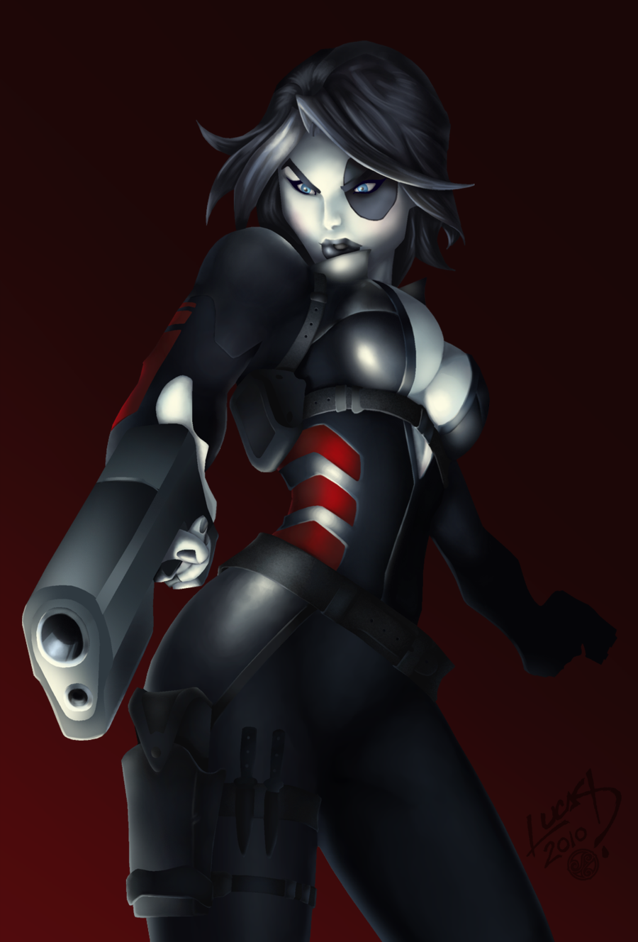 Domino Marvel Hot