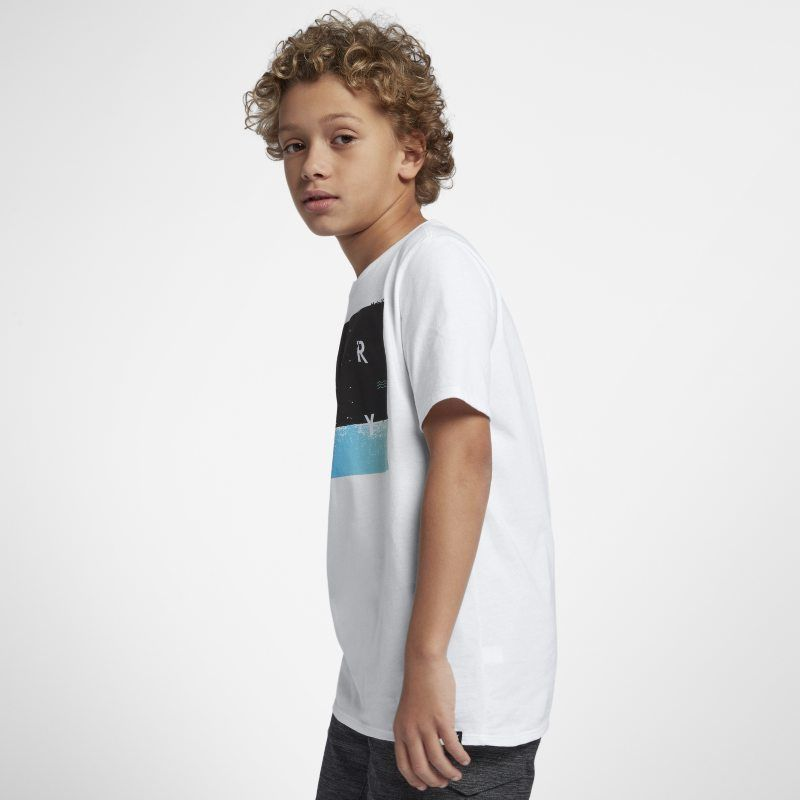 Hurley Breaking Sets Older Kids (Boys ) T-Shirt - White   Products ... 43aaea2903