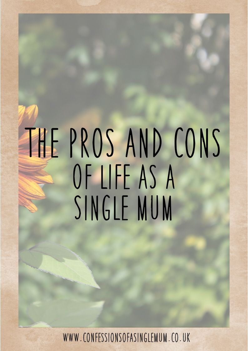 Pros and cons of dating a single dad
