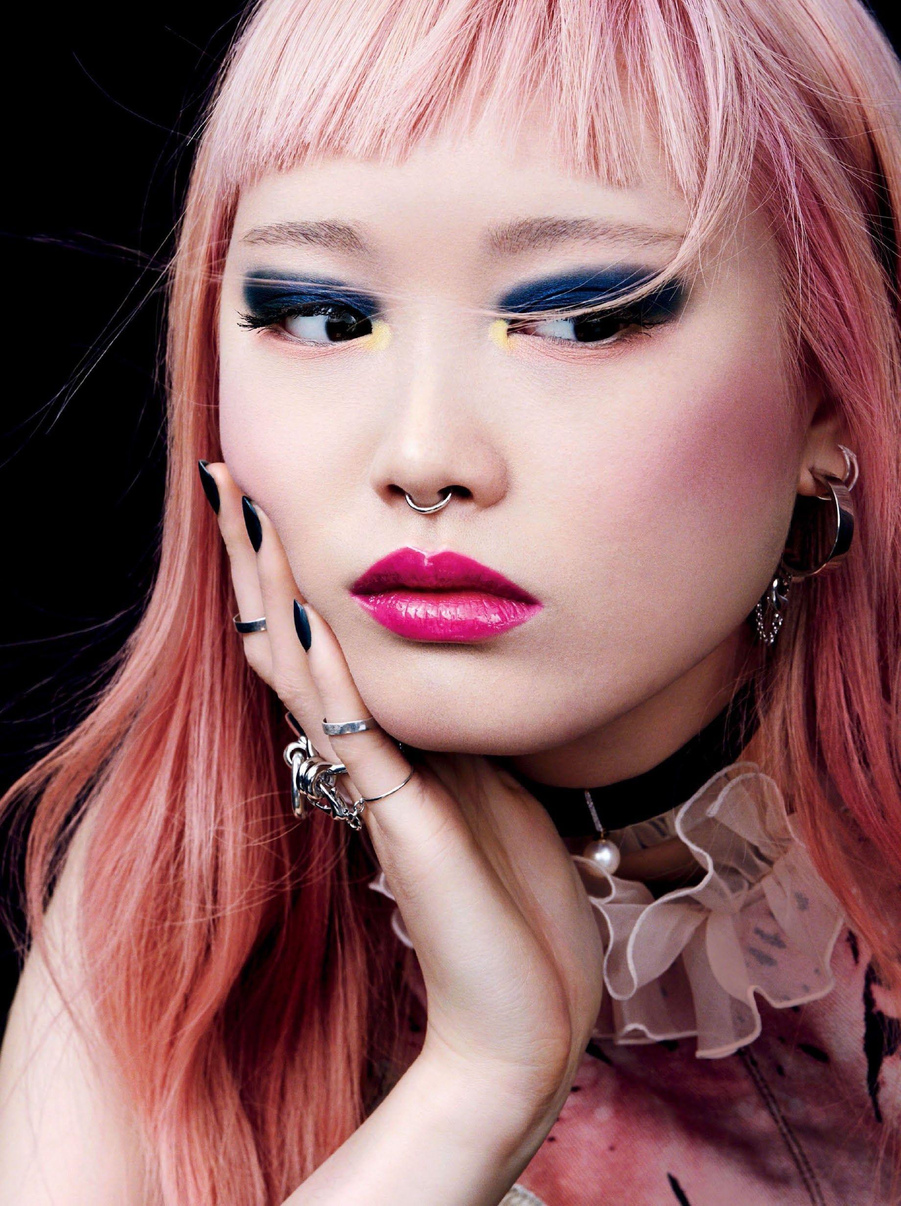 Be Bold Fernanda Ly for Glamour US February 2017 フェルナンダリー