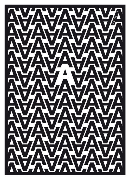 Für Annetet Inspiration gallery No. 655, Typography inspiration | From up North...pattern ideas