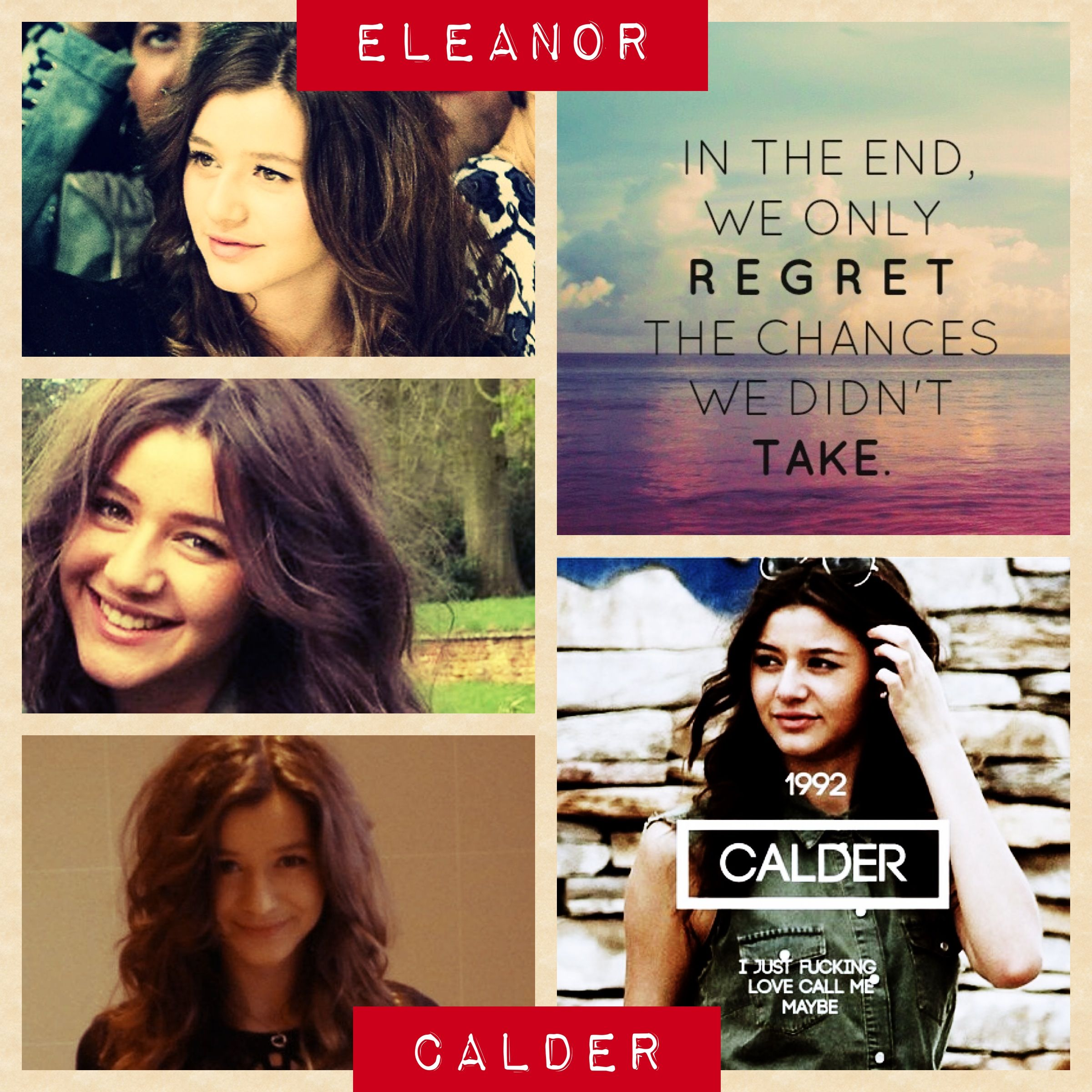 I Know Its Late But  Happy Birthday Eleanor