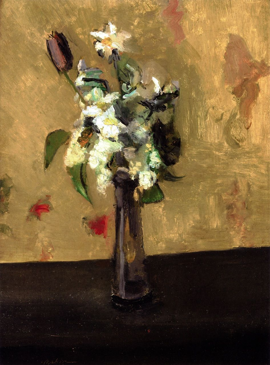 Bouquet of Flowers in a Crystal Vase, Henri Matisse 1902
