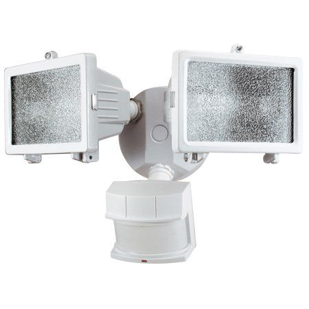 Heathco Hz 5512 Wh 300w Quartz Halogen Motion Sensing