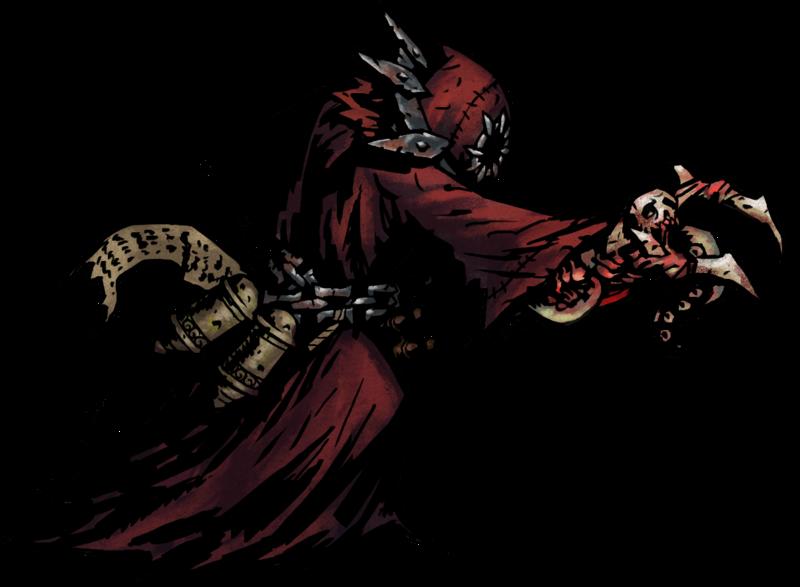 File Bone Necromancer Png Darkest Dungeon Necromancer Dark Fantasy