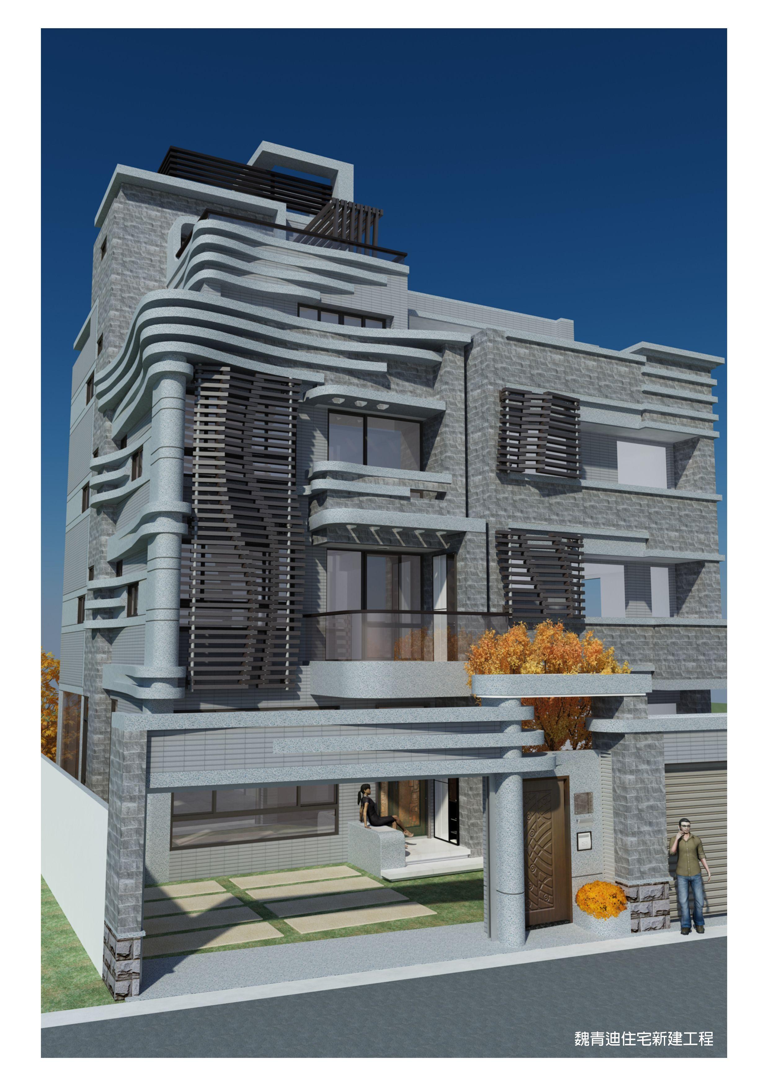 ç'ªäºžå ºè¨ 台中豐原è'²ä æ µ é€å¤©ä½å …è¨è¨ˆ 3D NIGHT Roppa Architecture Design Pinterest