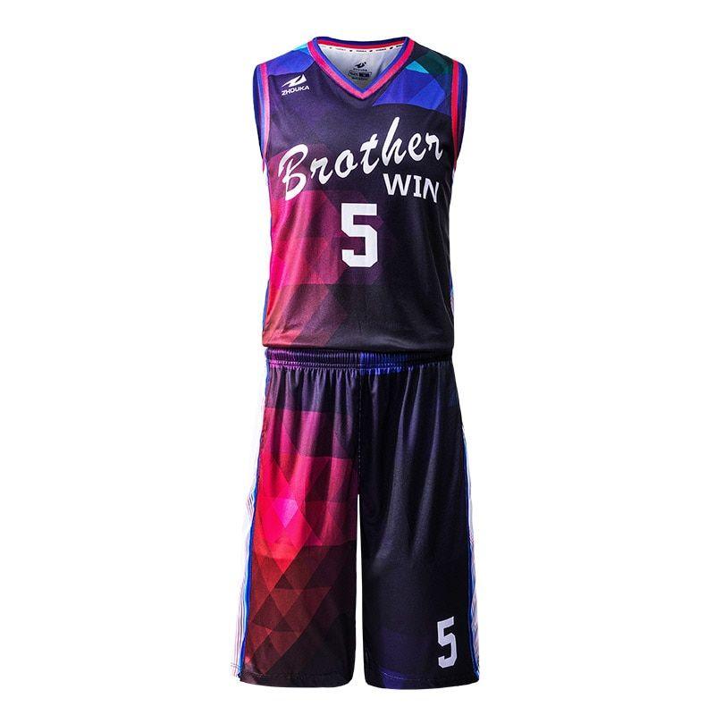 Online Shop Free Custom Sublimation Team Basketball Jersey Men Basketball Suit Set 100 Polyes Basketball Uniforms Design Basketball Jersey Basketball Uniforms